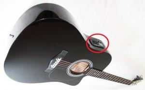 Встроенный гитарный тюнер