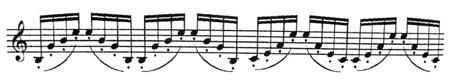 легато на скрипке
