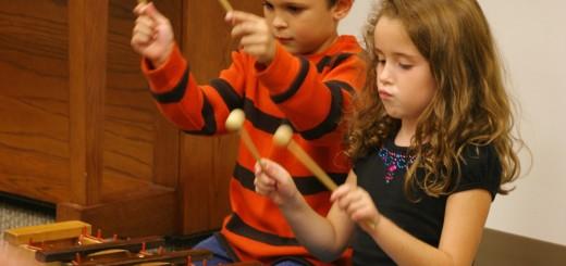 обучение детей музыке